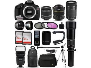 T5i T3 2.2x Tele EOS Rebel T3i MegaAccessory 72mm .43x W//A Hood Filter Kit 7D Mark II and 6D DSLR Cameras with 72mm Diameter Lenses EOS 70D Lens Cap and Close Up Kit for Canon Rebel T5