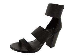 Steven Steve Madden Sienna Women US 9.5 Black Sandals