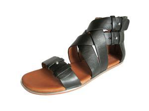 Gentle Souls Blessie Womens Size 5.5 Black Gladiator Sandals Shoes New/Display