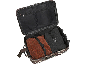 db3a3b503 Rockland Luggage Rio 2 Piece Carry On Luggage Set