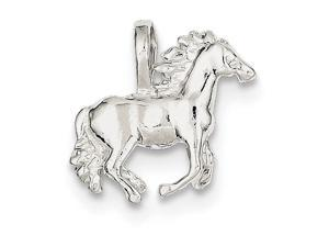 Finejewelers Sterling Silver Horse Charm