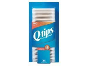 Q-tips antibacterial cotton swabs for clean ears - 300 ea