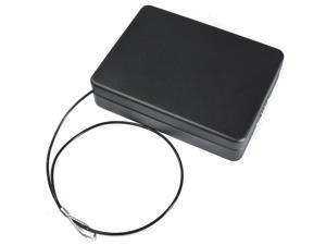 Barska Combination Compact Lock Box Black Combination Compact Safe