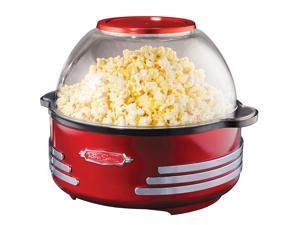 NOSTALGIA ELECTRICS  SP300RETRORED  Red  Retro Series Stirring Popcorn Maker