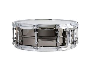 "Ludwig 5"" x 14"" Black Beauty Brass Shell Snare Drum, with Tube Lugs, Chrome Hardware"
