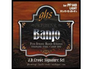 GHS PF140 JD Crowe Studio Signature 5-String Banjo Set