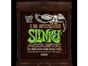 Ernie Ball 12 String Slinky Acoustic Phosphor Bronze Strings