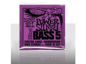 Ernie Ball 2821 Power Slinky 5-String El Bass Set