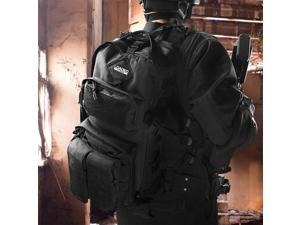 Loaded Gear BI12026 GX-300 Tactical Sling Backpack - Black