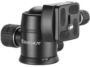 Barska Ball Joint Tripod Head, Black