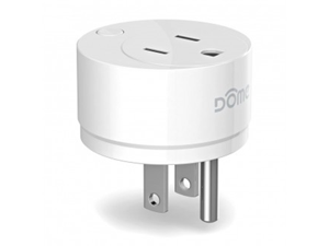 Dome Z-Wave On/Off Plug-In Switch with Energy Monitoring, Z-Wave Range Extender (DMOF1)