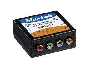 MuxLab, Inc. 500051 Component Video/Digital Audio Balun, Female