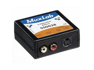 MuxLab 500038 Video Ease S-Video/Hi-Fi Balun, Female