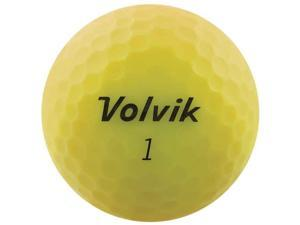 Volvik 9529 Volvik 2020 Vivid 3 Pc Golf Balls Matte Yellow