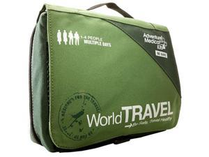 Adventure Medical Kits World Travel Emergency Bag with Wilderness/Travel Field Manual