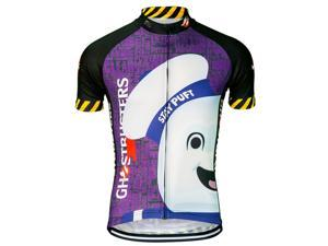 Brainstorm Gear Men s Ghostbusters Stay Puft Cycling Jersey - GBMM-M ... 998b23418