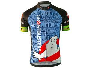 Brainstorm Gear Mens Ghostbusters Slimer Cycling Jersey - GBS-M ... 24325680f