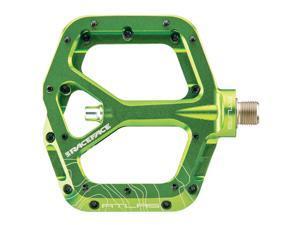Race Face Atlas BMX/Platform Bicycle Pedal (Green)