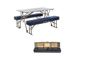 KAMP-RITE KSTB224 KAMP-RITE KWIK SET TABLE WITH BENCHES