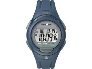 Timex IRONMAN Essential 10 Full-Size Resin Strap Watch - Blue/Black/Gray - TW5M16500