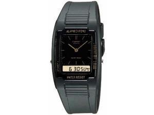 Casio Mens Black Classic Analog Digital Watch - AQ47-1E