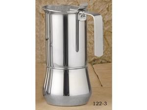 ILSA Stainless steel stove top, 3- cup 122-3