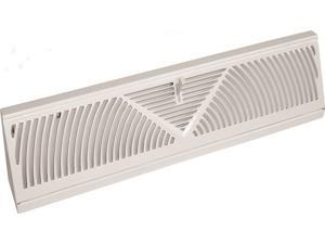 18IN WHT BASEBOARD REGISTER IMPERIAL MANUFACTURING Wall Registers RG1627-A