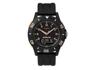 Timex Expedition Katmai Combo 40mm Resin Strap Watch - Black - TW4B16700