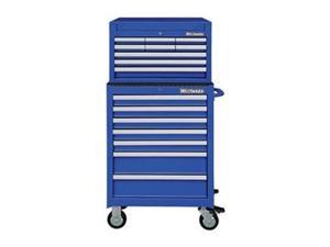 """WESTWARD 7CY30 26""""W Tool Chest and Cabinet Combination 16 Drawers, Blue,"""