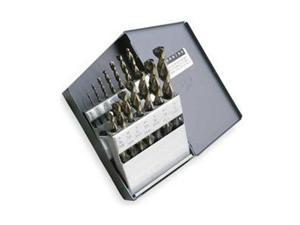 "WESTWARD 5TVH4 1-3//8/"" x 4MT Shank HSS Black Oxide Taper Shank Drill"
