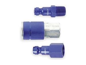 LEGACY A72452C-BG Coupler/Plug Kit,NPT,1/4,Steel/Aluminum