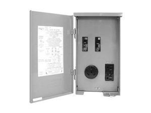 CONNECTICUT-ELECTRIC CESMPSC41GRHR Outdoor Power Outlet,120V,30A
