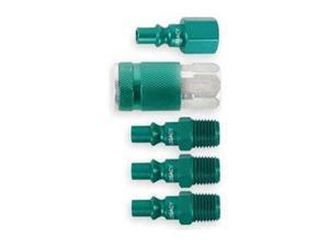 LEGACY A71456B-BG Coupler/Plug Kit,NPT,1/4,Steel/Aluminum