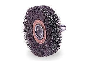 """WEILER 93031 Crimped Wire Wheel Wire Brush, Stem, 3"""""""