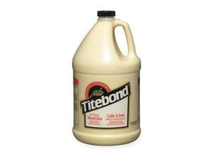 TITEBOND 9106 Wood Glue, 128 oz, Jug, Begins to Harden in 15 min 24 hr Full Cure