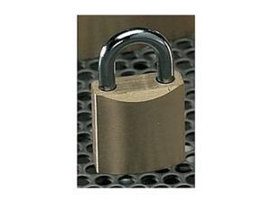 """MASTER LOCK 4130KA-243 Keyed Padlock,Alike,1-1/8""""W"""