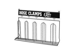 DURHAM MFG 905-08-S702 Loop Hose Clamp Rack,Steel