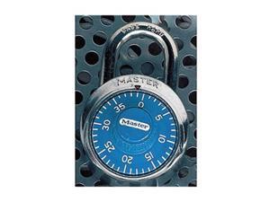 Master Lock Combination Padlock,2 in,Round,Silver HAWA 1506D