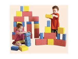 Edushape 709084 Corrugated Blocks - Set Of 84