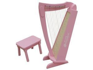 Schoenhut 15 String Harp w/ bench