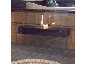La Strada Freestanding Fireplace - by Bluworld