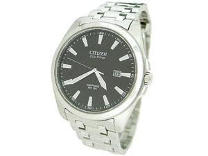 Citizen Eco-Drive WR100 Sapphire Glass Black Dial Men's watch #BM7100-59E