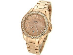 Fossil Riley Mini Rose Gold-plated Stainless Steel Ladies Watch ES2889