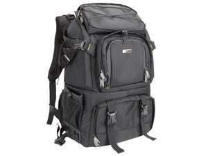 Evecase Extra Large DSLR Camera/Laptop Travel Backpack for Canon EOS 70D, 60D, 7D, T6s, T6i, T5i, T5, T4i, T3, T3i SLR – Black