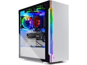 Skytech Archangel Gaming Computer PC Desktop – Ryzen 7 3700X 3.6GHz, RTX 2060 Super 8G, 1TB SSD, 16GB DDR4 3000MHz, Stock RGB Heatsink, Windows 10 Home 64-bit, 802.11AC Wi-Fi