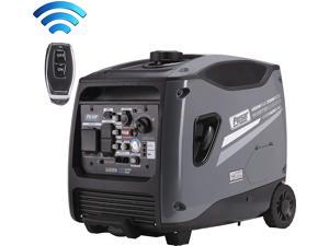Pulsar Products G450RN, 4500W Portable Quiet Inverter Remote Start & Parallel Capability, CARB Compliant Generator