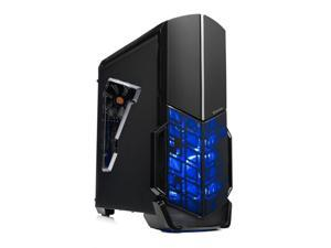 [Ryzen & GTX 1050 Ti Edition] SkyTech Shadow Gaming Computer Desktop PC Ryzen 1200 3.1GHz Quad-Core, GTX 1050 Ti 4GB, 8GB DDR4 2400, 1TB HDD, 24X DVD, Wi-Fi USB, Windows 10 Home 64-bit
