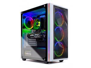 Skytech Blaze 3.0 Gaming PC Desktop –  AMD Ryzen 5 5600X 3.7GHz, RTX 3070 8GB GDDR6, 1TB NVMe, 16G DDR4 3000,  B550 Motherboard, 750W Gold PSU, AC Wi-Fi, Windows 10 Home 64-bit