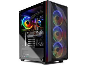 Skytech Chronos Gaming PC Desktop - AMD Ryzen 9 3900X, RTX 3080 10GB, 16GB DDR4, 1TB Gen4 SSD, 360mm AIO, 850W, Black