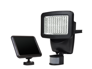 Sunforce 82126 120-LED Solar Motion Light, 1100 Lumen Output, 30ft. (9.1m) Detection Distance, 180 degrees Detection Range, Fully weather resistant and can be mounted almost anywhere